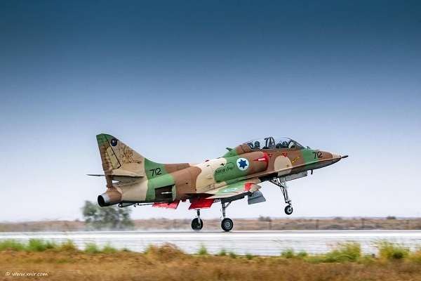 The Israeli Air Force : Goodbye A-4 Skyhawk