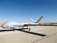 "The missions of the MALE (Medium Altitude Long Endurance) UAV are similar to those of the ""Hermes 450"""